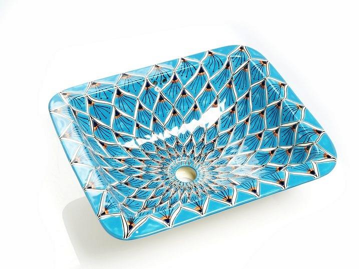 Waschbecken Aqua Azul
