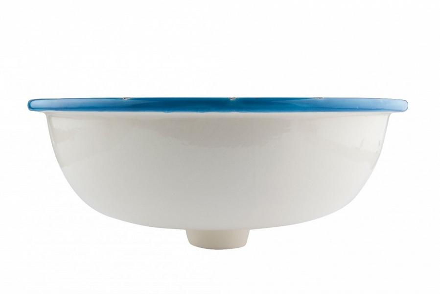 aqua azul mexikanisches rundes waschbecken. Black Bedroom Furniture Sets. Home Design Ideas